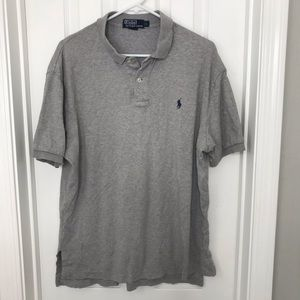 Polo Ralph Lauren Gray Polo Short Sleeve Shirt